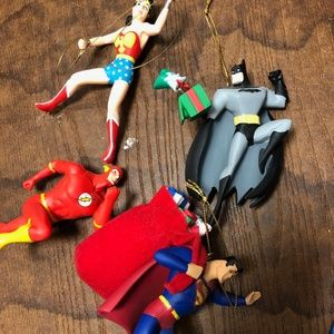 DC Ornaments - Hallmark
